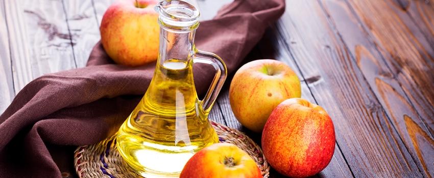 Fique bonita em casa com vinagre de maçã